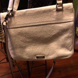 Kate Spade Ostrich Leather Bow Satchel Bag